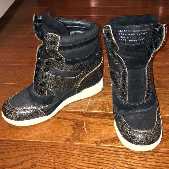 Marc Jacobs Sneaker Wedges   Poshmark